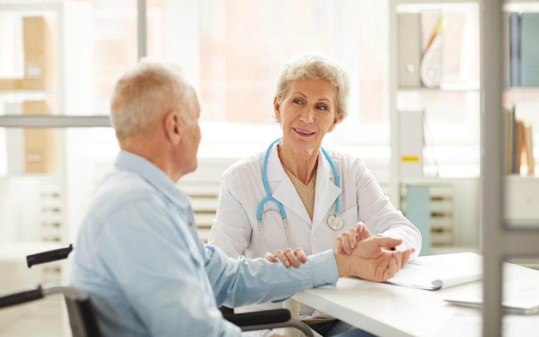 Senior Patient at Medical Checkup