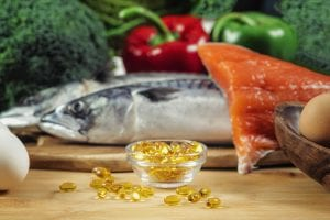 Vitamin D Gel Capsules and Natural Sources of Vitamin D